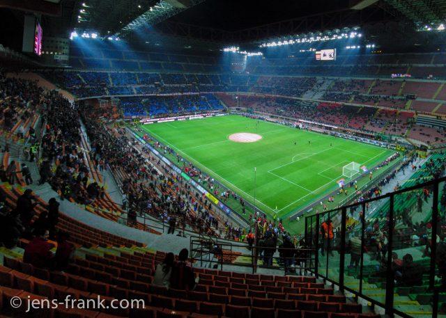 Stadion Mailand, Italien